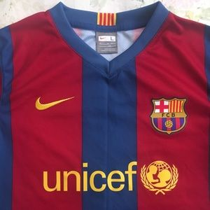 Nike Other - FC Barcelona Soccer Jersey - Youth Large